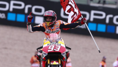 Marc Márquez's hit in Germany: a planned success