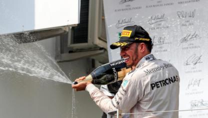 Formula 1/ Hungarian Grand Prix: Hamilton rockets into his fourth world championship