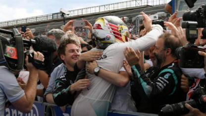 Hockenheim: Hamilton's advantage in a nightmarish weekend for Rosberg
