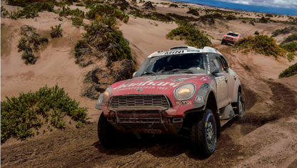 Extreme weather and 75 withdrawals highlight the harshness of the Dakar rally at its halfway point