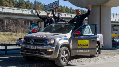 Rainer Zietlow does it again: from Dakar to Moscow in 3 days, 4 hours and 54 minutes by car