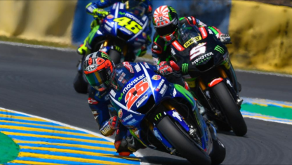 MOTOGP | LE MANS: Viñales emerges a reinforced leader after battling it all out with Rossi