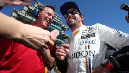 IndyCar racing lifts Fernando Alonso's spirits