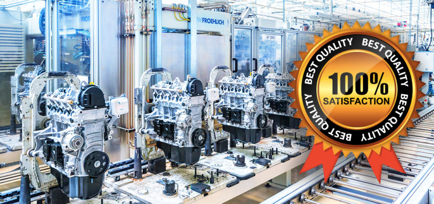 Our lubricants' guarantees and certificates