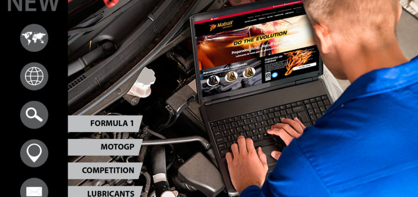Welcome to the MatraX Lubricants' new website: a new image for our new challenges