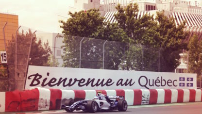 How brakes suffer in the legendary Montreal's Wall of the Champions