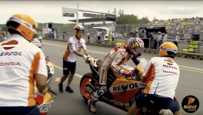 Video: Marquez, from tyre mistake to dominant win in Brno