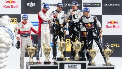 WRC | U-turn at the Deutschland Rally: Tänak wins and Ogier becomes the new leader