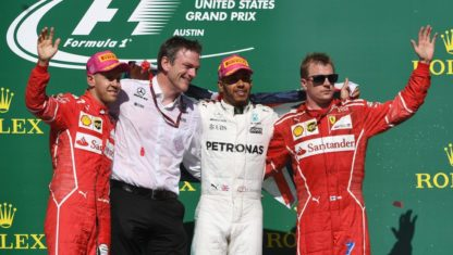 F1 | USA: Hamilton set up to claim world title