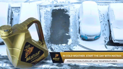 MatraX: Starting-up in cold weather and the key role of your engine oil