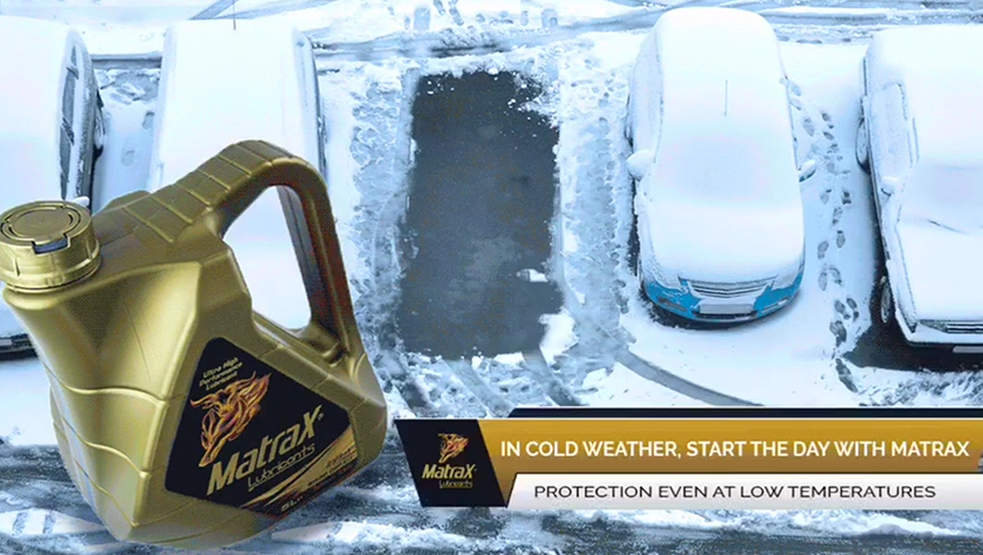 Matrax starting up in cold weather and the key role of for What motor oil is best for cold weather
