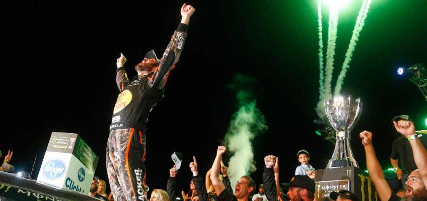 NASCAR   Martin Truex's dream comes true as he wins the Cup Series champion ship