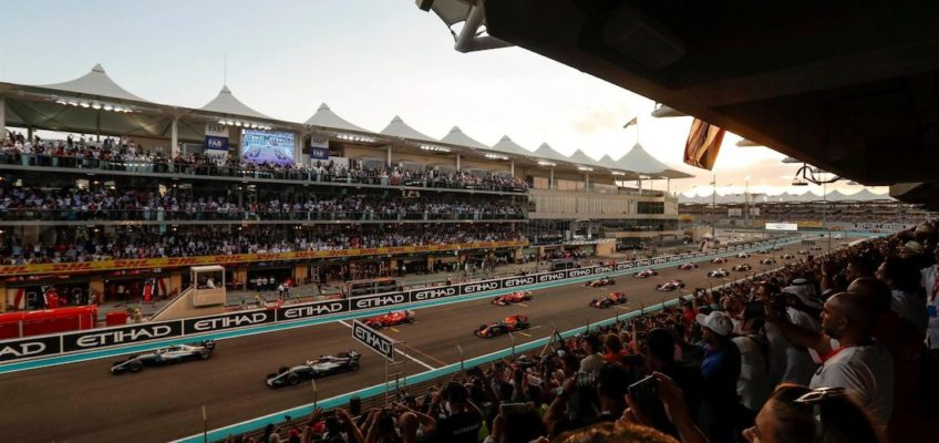 End of season marks for the different F1 scuderias