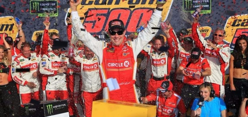 NASCAR   Excitement and surprises at the last Monster Energy Cup playoff cutdown race of the season