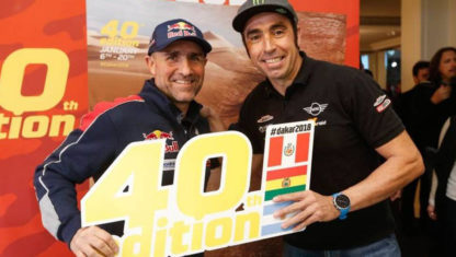 DAKAR | Great excitement, new developments and a 40 year anniversary mark the Dakar Rally 2018