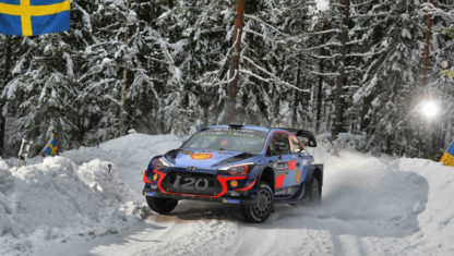 WRC | Neuville makes history at Rally Sweden and takes the championship lead