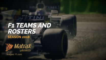 The 2018 F1 season is near: Teams have confirmed their rosters and scheduled their car launches