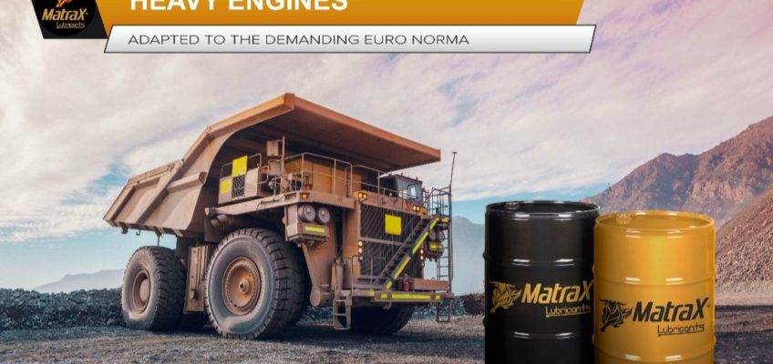 The synthetic lubricants that meet the requirements of heavy engines as well as European regulations
