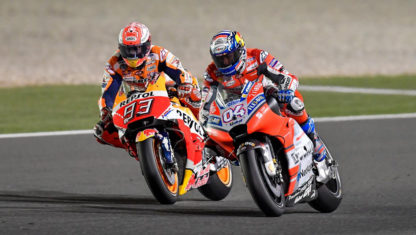 MotoGP | Dovizioso triumphs after a thrilling duel with Marquez at QatarGP