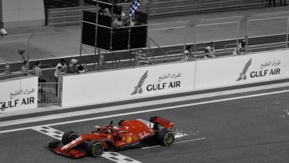 F1 | Vettel's winning streak continues as he wins the Bahrain GP