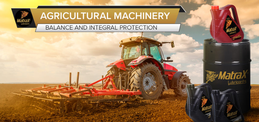 Keeping agricultural machinery in optimal condition by using the right lubricant