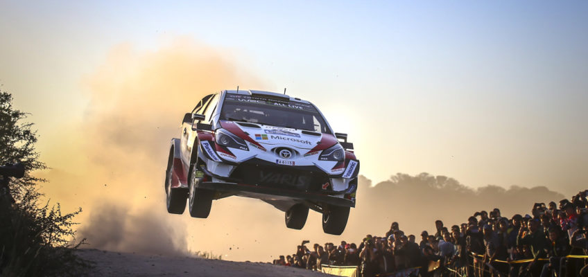 WRC Rally Argentina | Tänak dominates and takes his first victory with Toyota