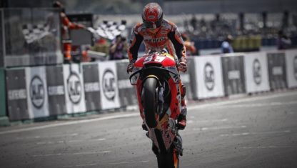 French MotoGP | Marquez wins again at one of his less favourable circuits