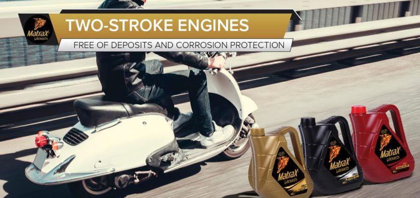 The cleaning and rust-preventing properties of two-stroke engines oil