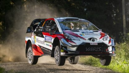 A dominant Ott Tänak wins Rally Finland