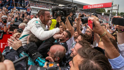 Hamilton wins GermanGP against all odds