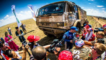 The Silk Way Rally enters its fifth stage
