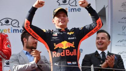 Verstappen wins the Austrian Grand Prix after both Mercedes retire