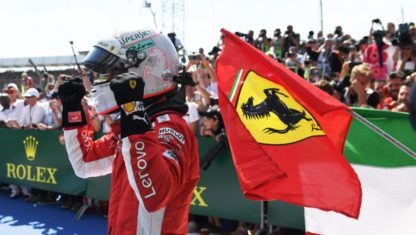 Vettel wins British GP at Silverstone