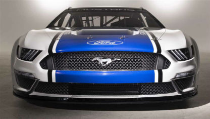 Ford unveils new NASCAR Mustang race car
