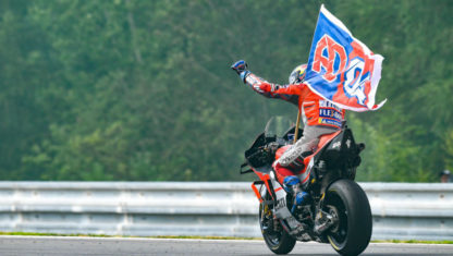 Dovizioso wins a thrilling Czech Republic GP