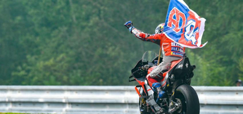 Dovizioso wins a thrilling Czech Republic GP
