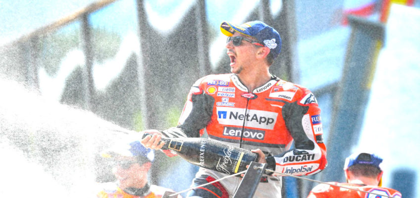 MotoGP: Lorenzo wins in Austria after fantastic duel with leader Marquez