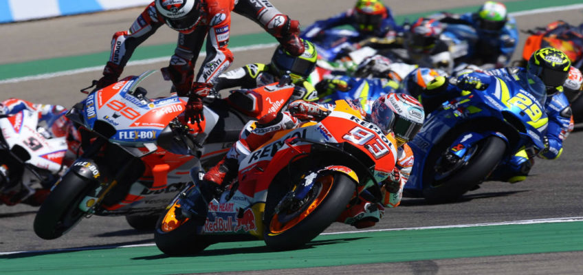 Marquez closer than ever to his seventh world title after AragonGP victory