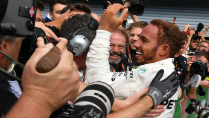 Hamilton takes ItalianGP from Raikkonen and consolidates his lead