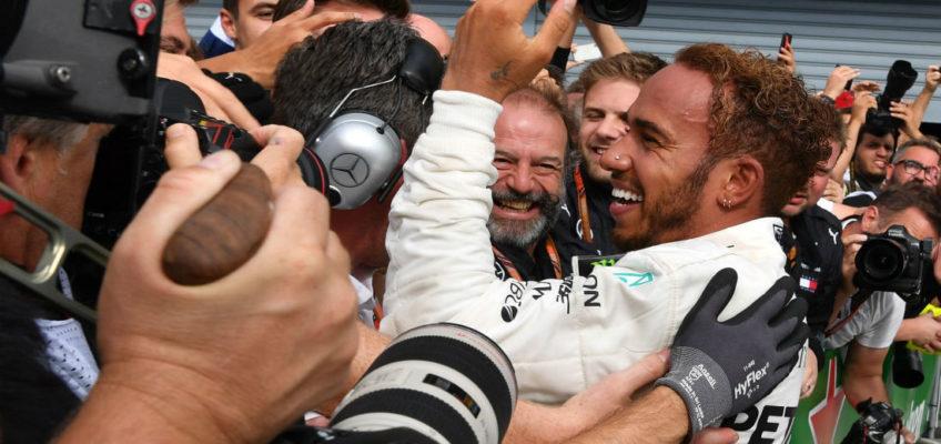 Hamilton takes ItalianGP from Raikkonen and consolidates his lead