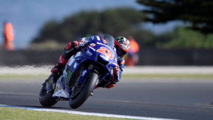 Australian GP: Viñales puts an end to Yamaha's winless streak