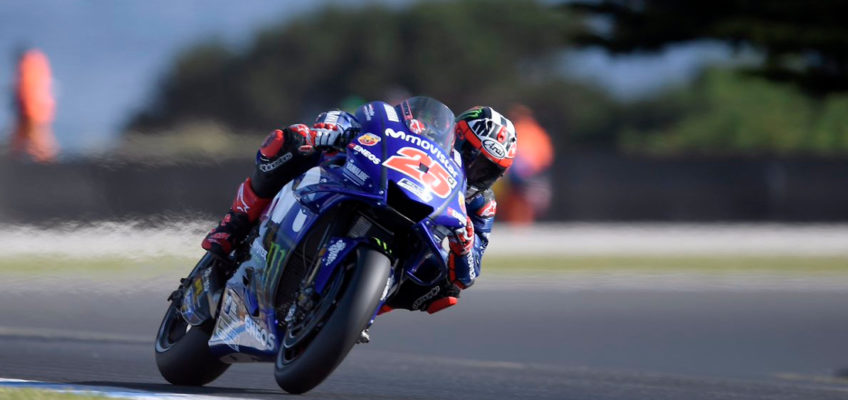 Australian GP: Viñales puts an end to Yamaha's winless streak
