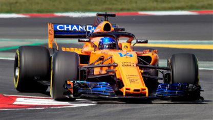 Alonso overtakes Schumacher