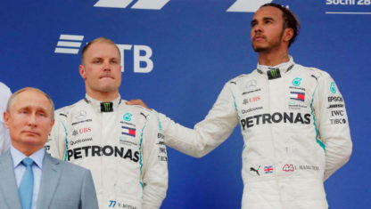 Bittersweet victory for Hamilton at the RussianGP