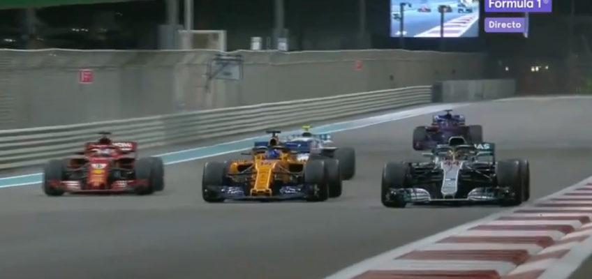 Abu Dhabi GP: Hamilton wins and Alonso says goodbye