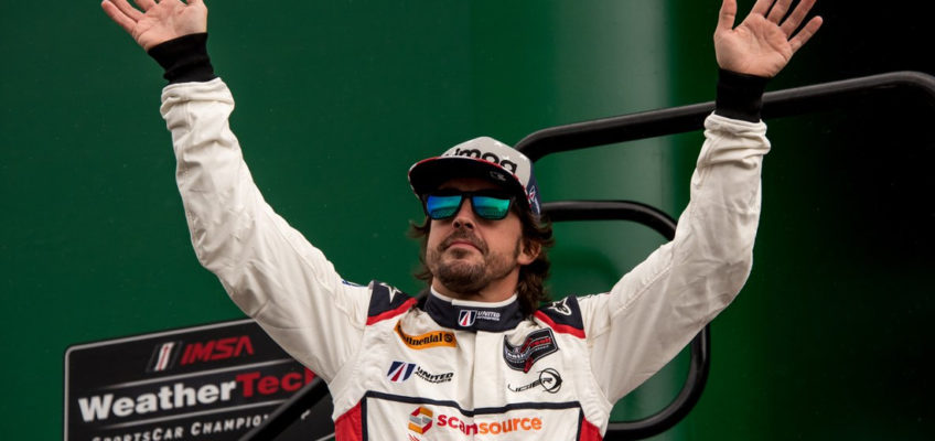 Fernando Alonso will take part in the 24 Hours of Daytona 2019 with Cadillac