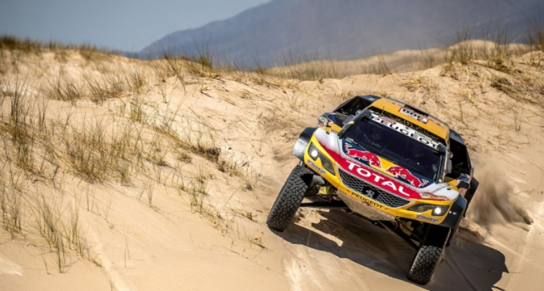 sebastien loeb will compete at rally dakar 2019 with a private peugeot 3008dkr matrax lubricants. Black Bedroom Furniture Sets. Home Design Ideas