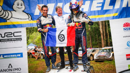 Australian Rally: Ogier claims sixth World Rally Championship and Toyota gets Constructors' title