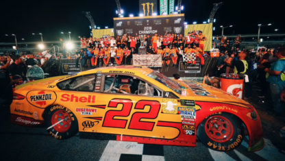 NASCAR 2018: Joey Logano becomes surprise champion in Miami