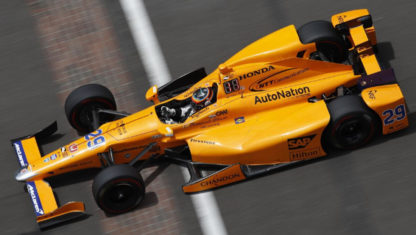 Alonso will race in the 2019 Indianapolis 500 in 2019 with a Chevrolet engine